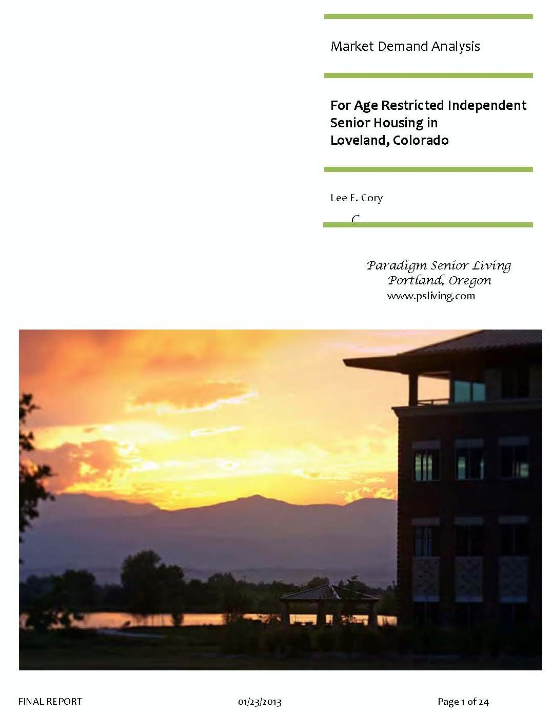 Cover Pages from Loveland CO Market Analysis2